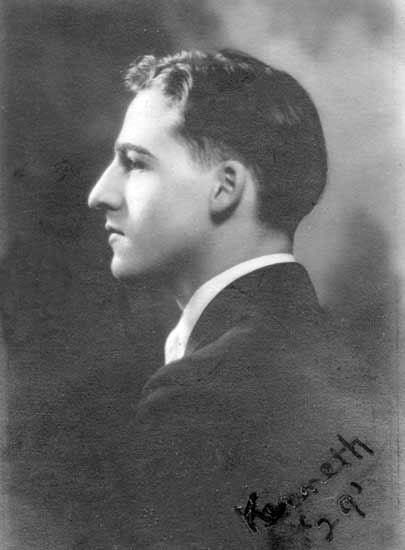KP in HighSchool, 1929